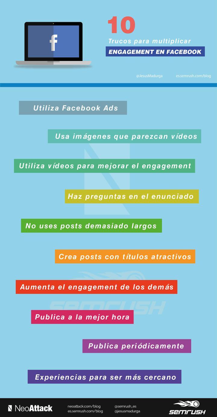 Trucos de engagement en Facebook