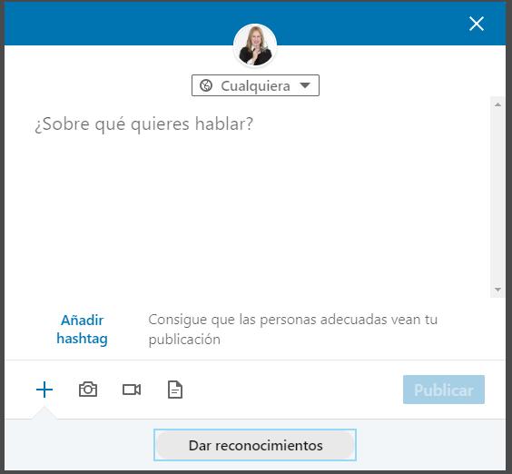 Estrategias de contenidos en LinkedIn - Zona microblogging