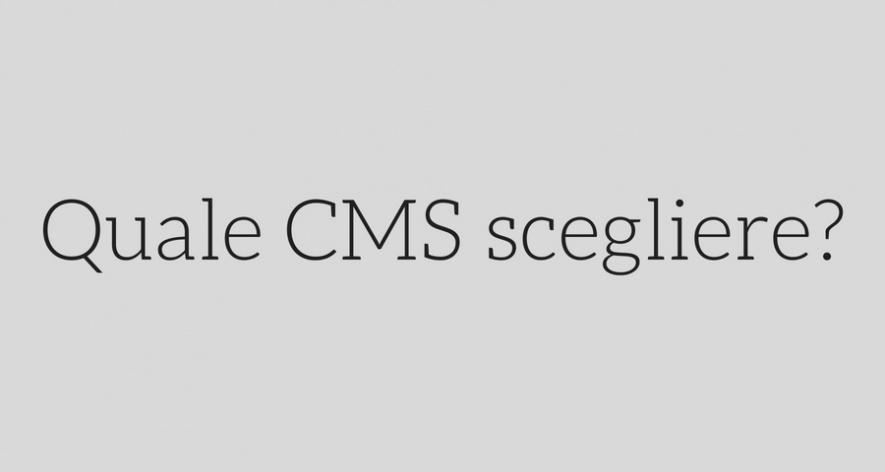 ecommerce: quale CMS scegliere?
