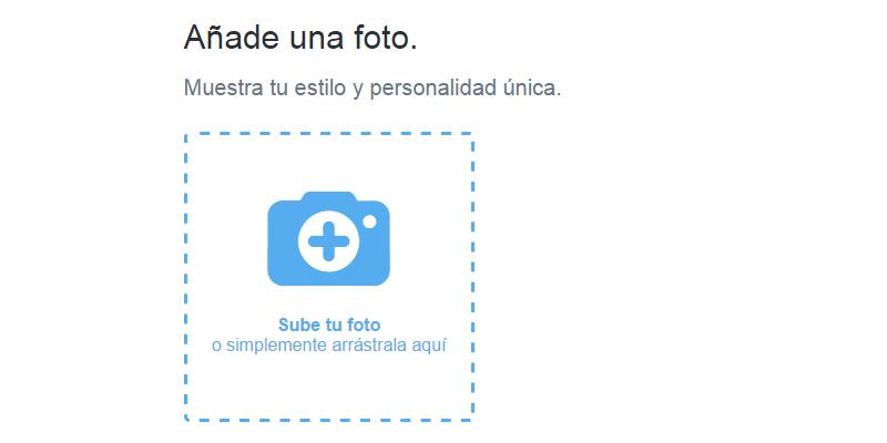 Crear cuenta Twitter - Paso 7