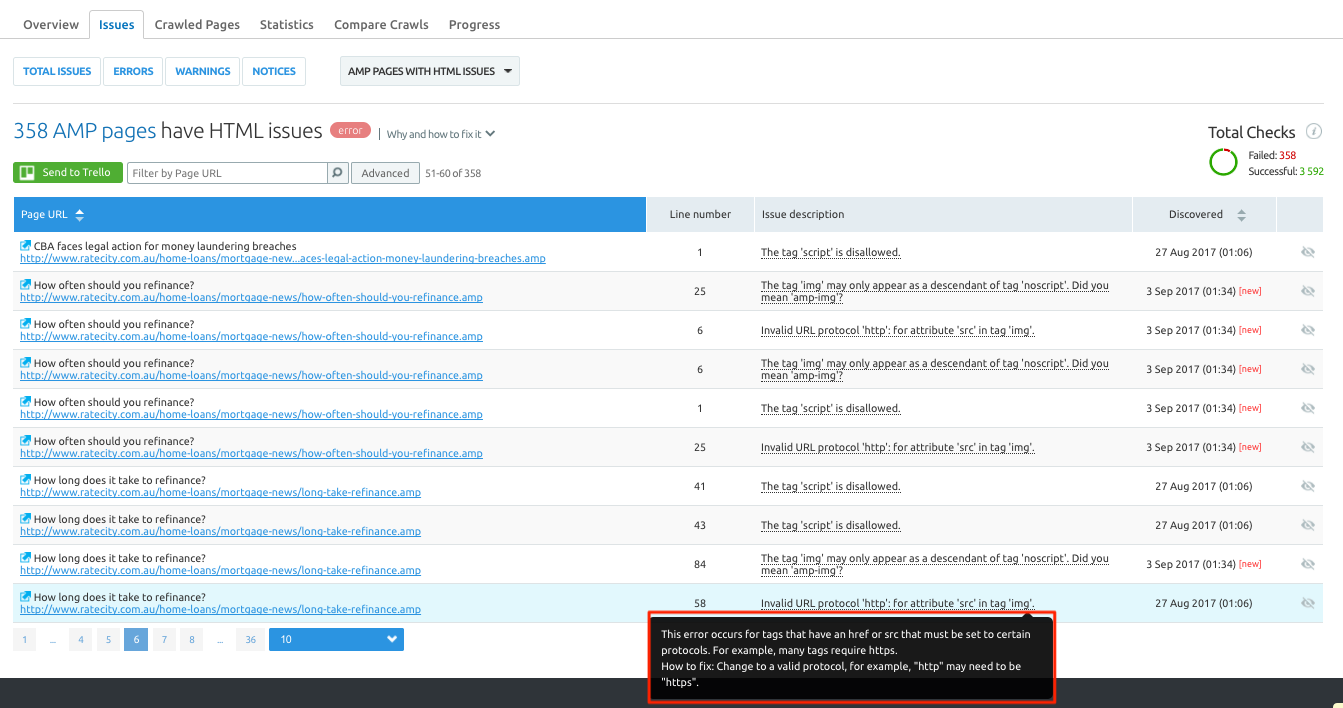 Change invalid URL protocol to valid