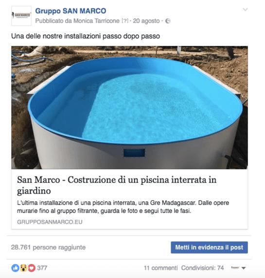 Post su Facebook: la social media strategy di un eCommerce