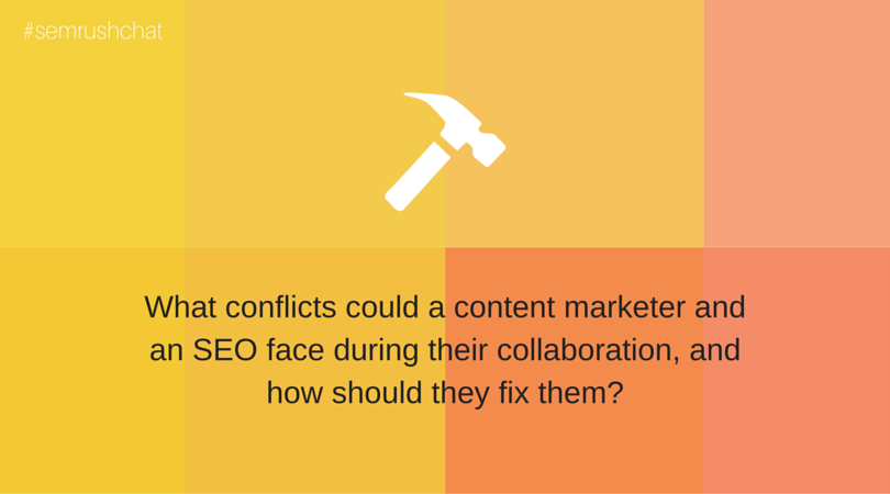 Conflicts between a content marketer and a SEO