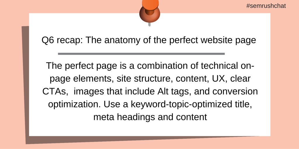 Anatomy of perfect webpage