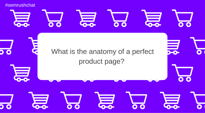 What is the anatomy of a perfect product page