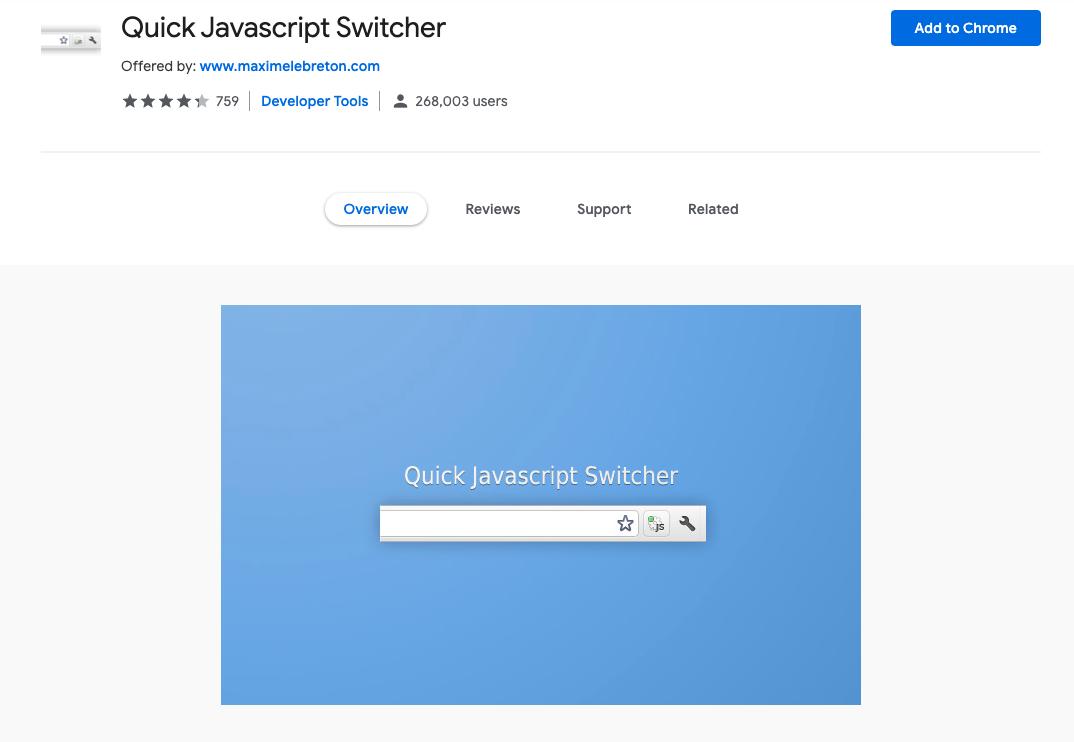Quick Javascript Switcher