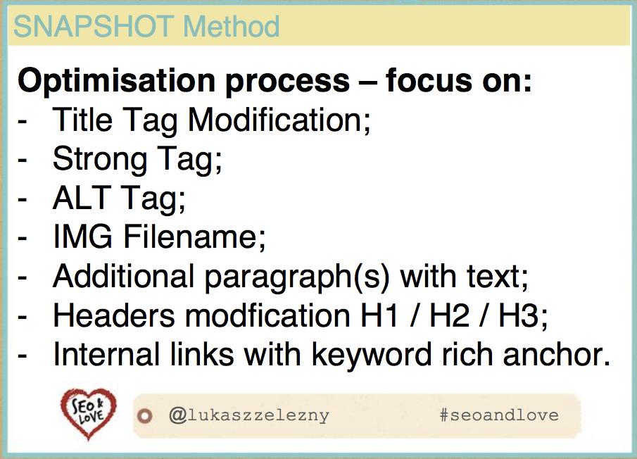 Seo&love 2017: slide sulla ottimizzazione di un sito