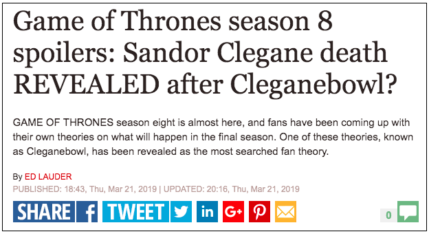 The New Season is Coming: Newsjacking the Top TV Series with SEMrush. Image 6