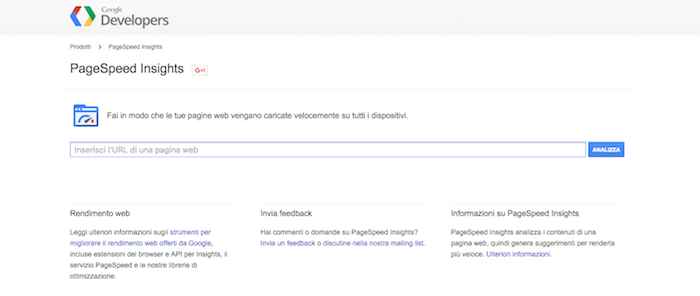Analizza il grado di responsive del tuo site con il tool PageSpeed