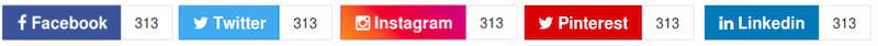 Come gestire i bottoni social sulla pagina di un sito