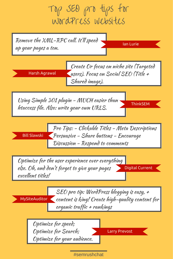 SEO pro tips for WordPress Websites
