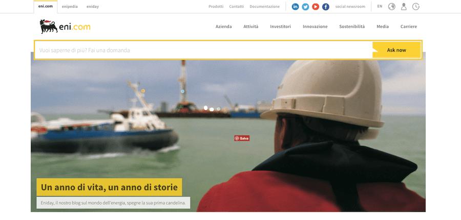 Case study: il restyling del sito di Eni