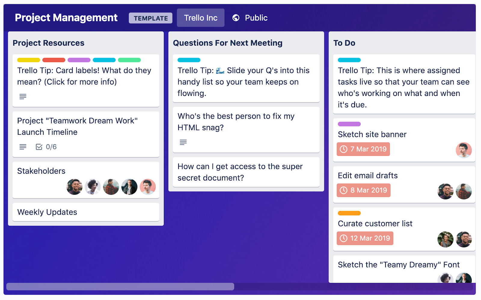 Project Management Tools for Agencies: Trello