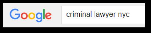 Criminal Lawyer NYC on Google