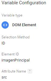 Variable de la imagen