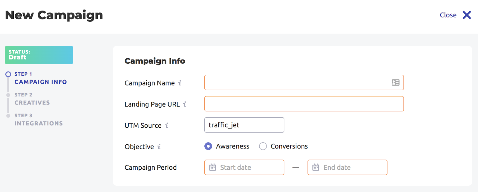 Traffic Jet - High-Converting and Transparent Traffic for Your Website