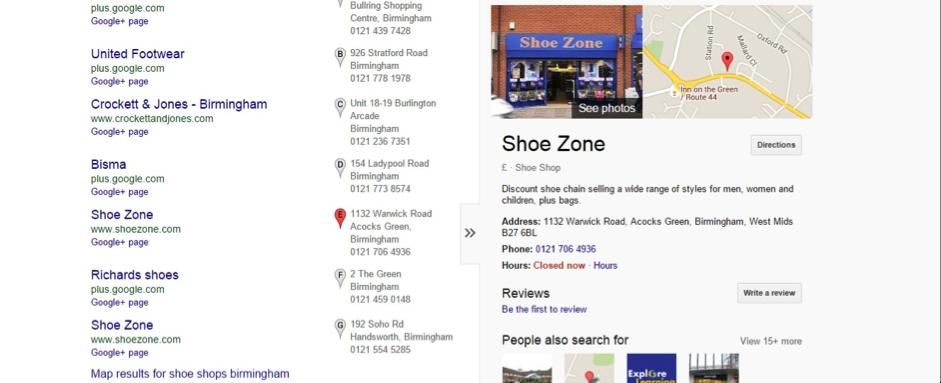 shoe-zone-serps