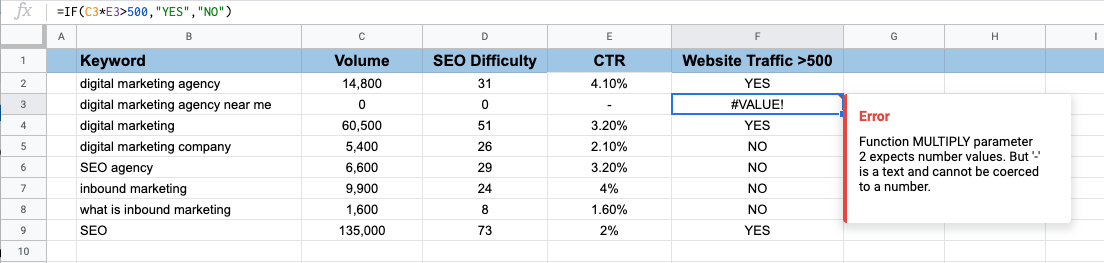 14 Google Sheets Formulas Every SEO Needs To Know. Image 3
