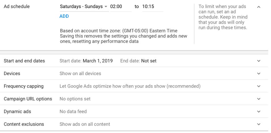 ad-scheduling