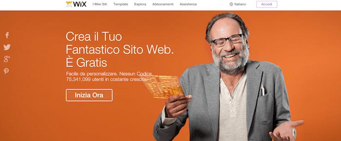 WIX: perché sceglierlo per creare il tuo sito gratis