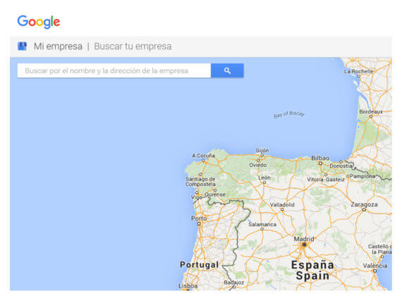 Google My Business Mapa de Google