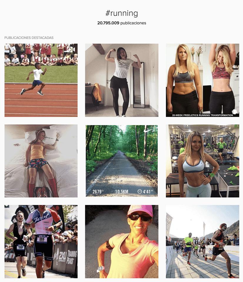 Publicaciones destacadas en Instagram por temática