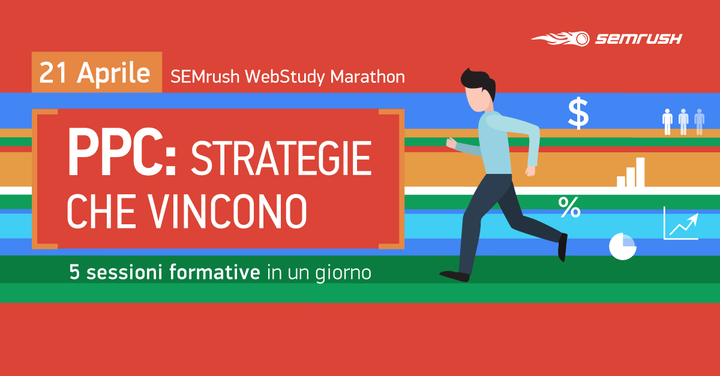 SEMrush webstudy marathon: le strategie PPC