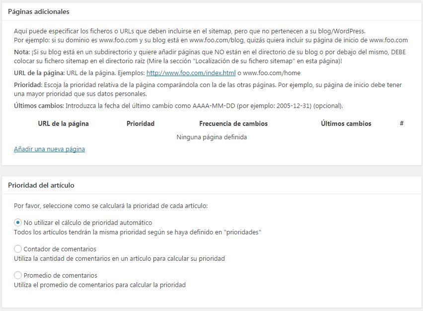 google-sitemap-xml-paginas-prioridad
