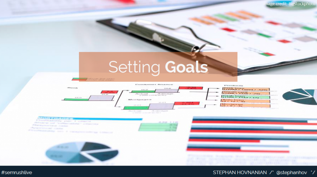Setting goals of your email marketing program