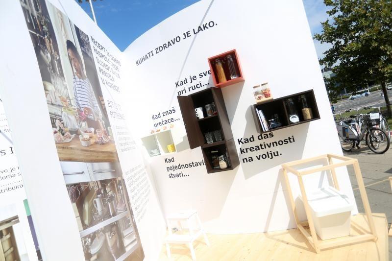 Street marketing - Ejemplo Ikea Croacia