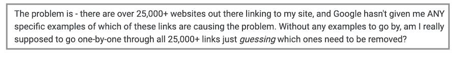 Ricerca sulle Penalizzazioni di Google: come trovare e correggere link in entrata non naturali. Immagine 4