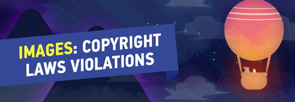 Images, Copyright violations
