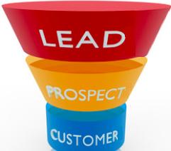 Lead nurturing, funnel tradizionale: lead - prospect - cliente
