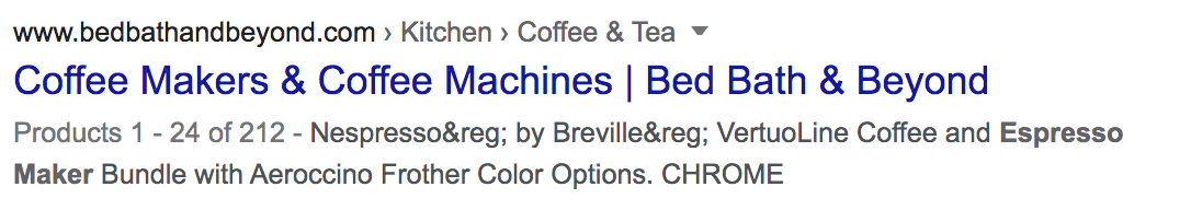 example of bad Meta Description