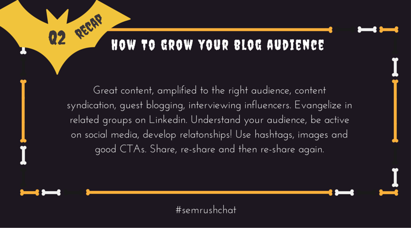 Grow your blog audience