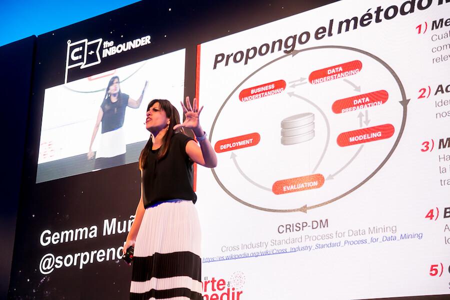 Gemma Muñoz a The Inbounder, Valencia