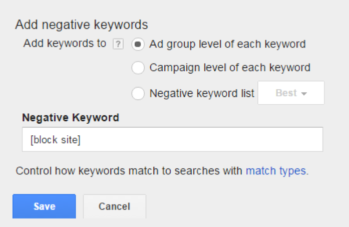 wasting-money-google-adwords-negative-keywords