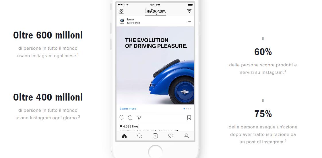 Enagement brand su Instagram