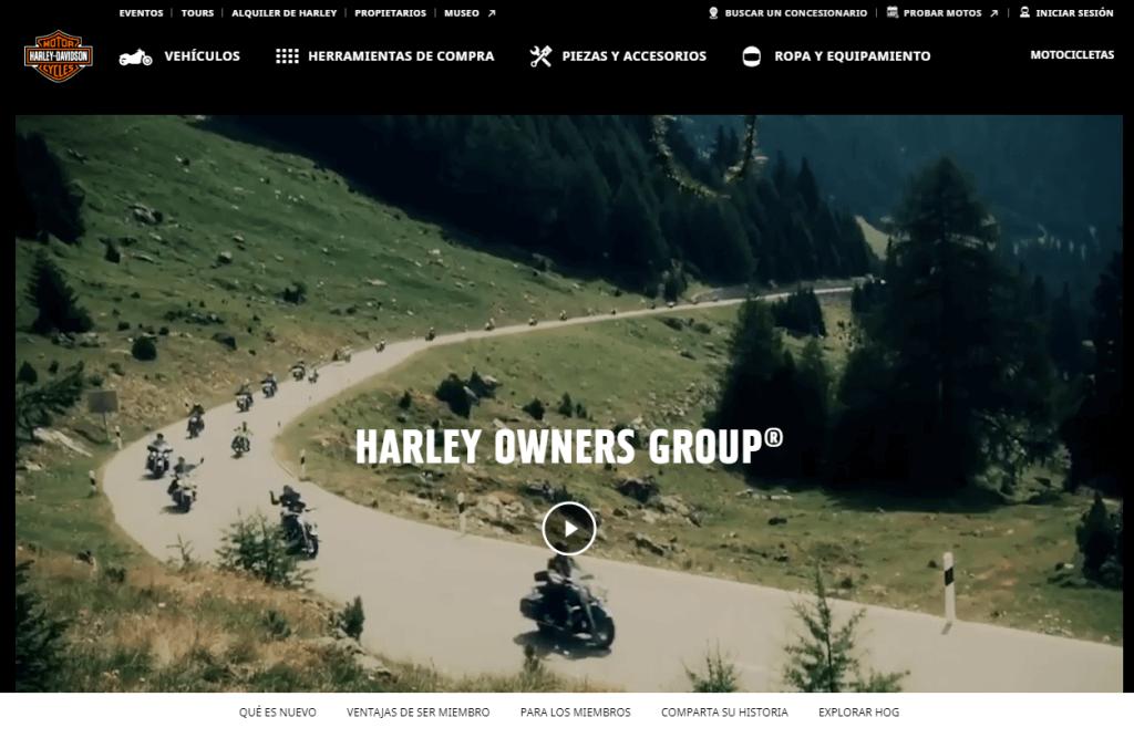 Comunidad de marca - Ejemplo Harley Davison