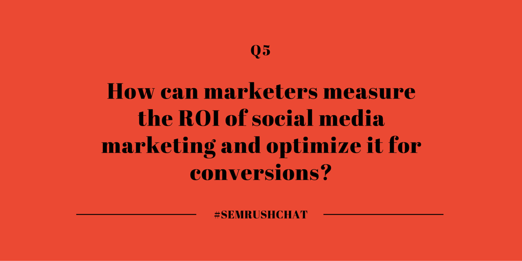 How to measure the ROI of social media marketing?