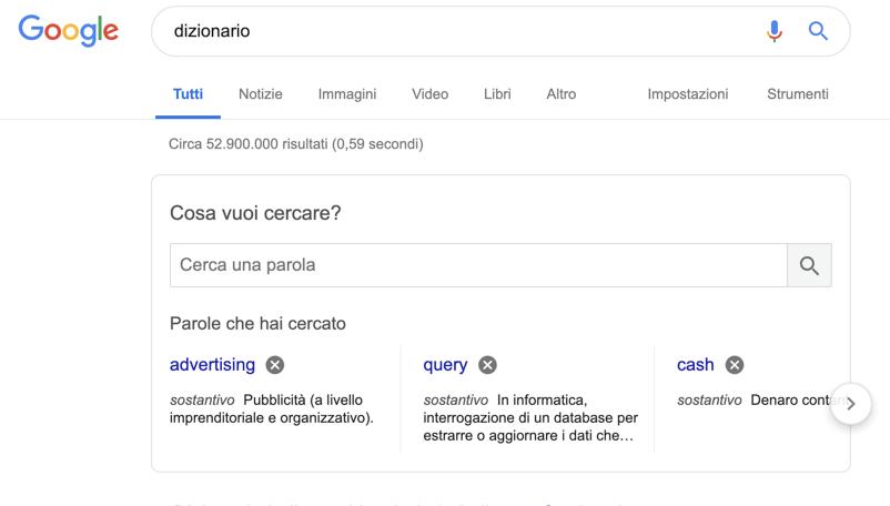 I pro di Google: è più facile trovare quello che cerchi