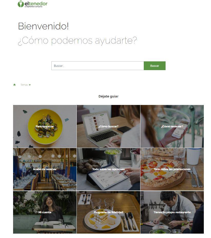 FAQs - Ejemplo El tenedor