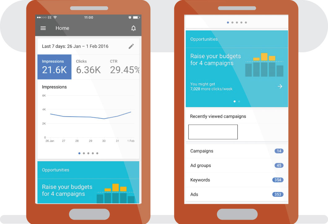 How to Use the Google AdWords iOS App. Image 1