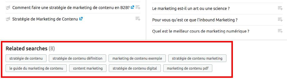 Idées de sujets pour le content marketing