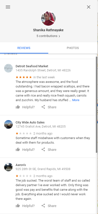 Negative Review Fraud