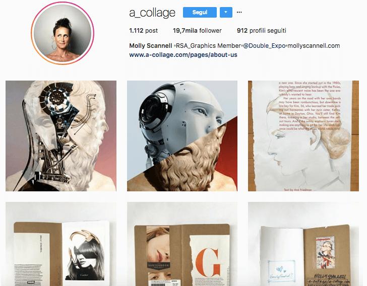 Profilo Instagram di Molly Scannell