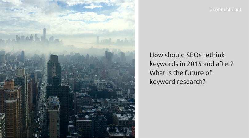 Keyword strategy in 2016