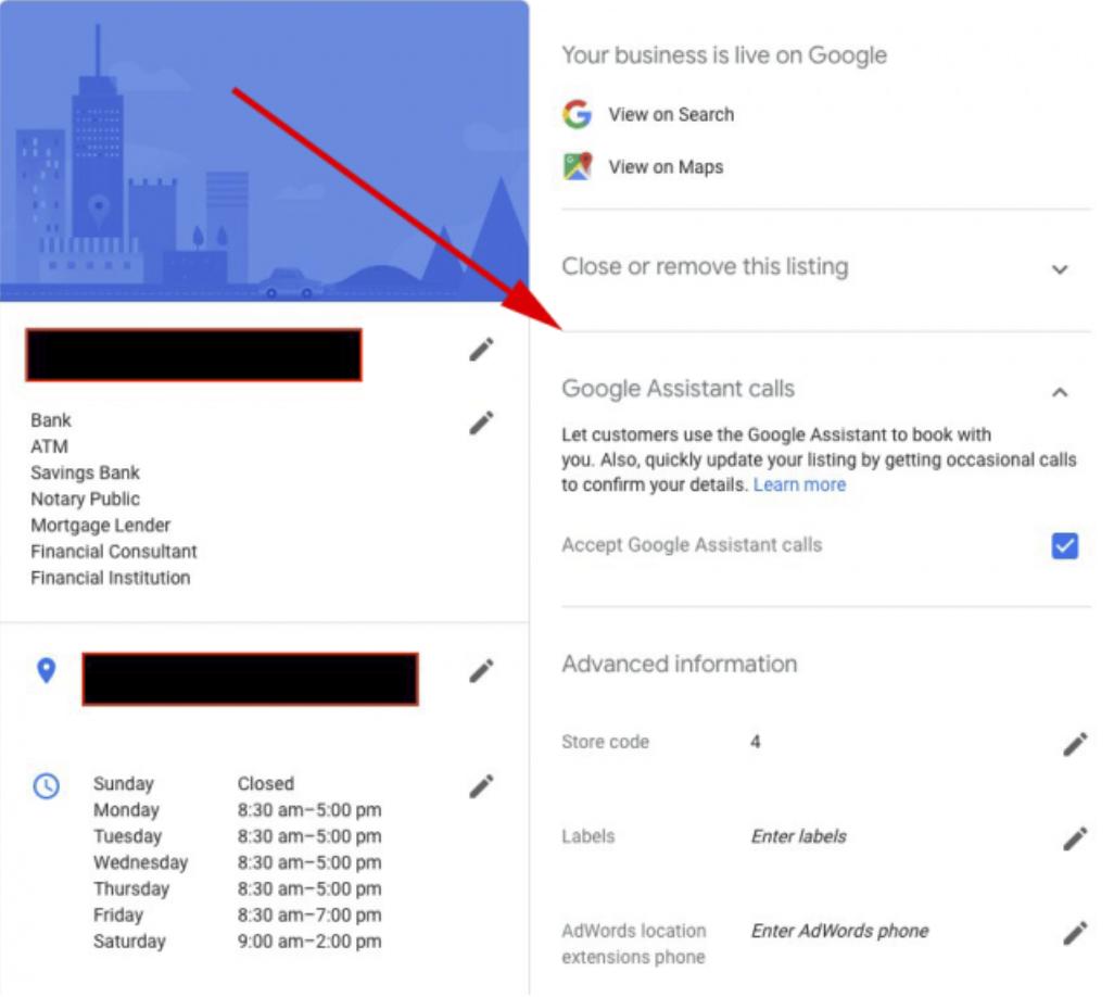 Google Assistant Calls Over Duplex in Google My Business