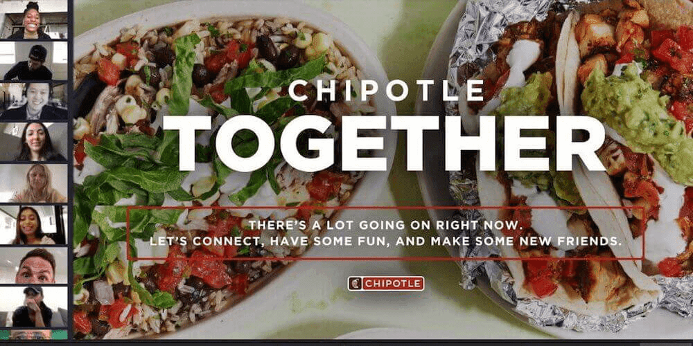 Chipotle marketing during covid-19