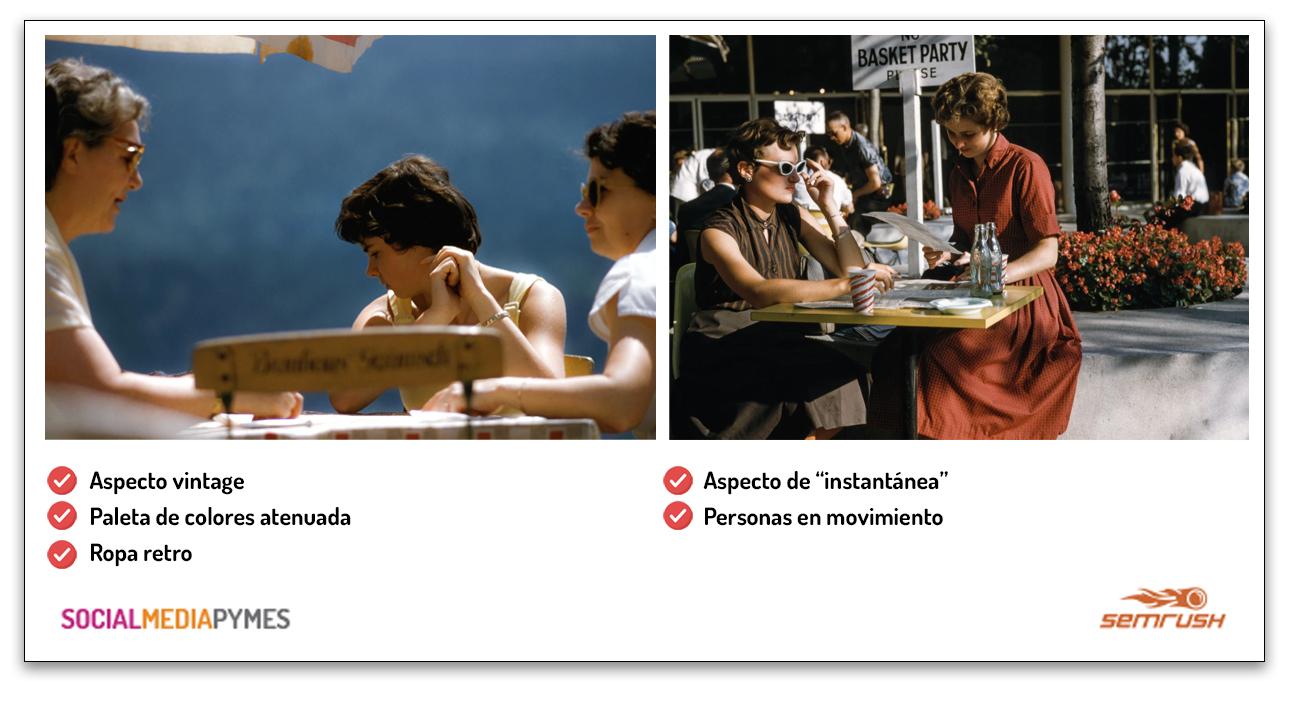 Presencia visual en redes sociales - Infografía sobre imágenes